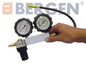 BERGEN Professional Trade Quality 5 Piece Cylinder Leak Detector Test Set BER5253