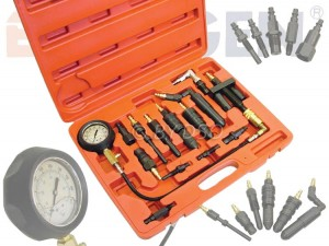 BERGEN Comprehensive Diesel Engine Compression Tester Kit BER5252